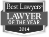 Best Lawyers Lawyer Of The Year 2014 Badge